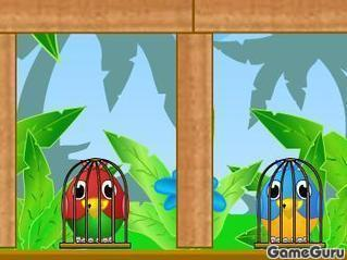 Игра Спаси птичек