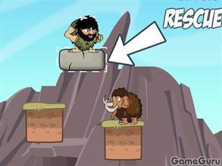 Игра Спаси мамонтов