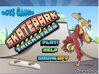 Игра Скейтеры-трюкачи
