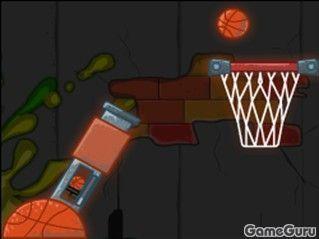 Игра Баскетбольная пушка