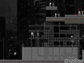 Игра Ниндзя на крыше