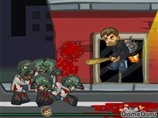 Джетпак и зомби