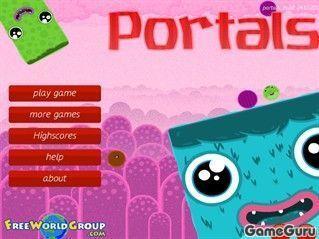 Игра Порталы