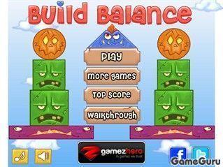Игра Построй баланс