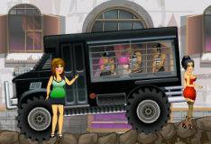 Игра Водитель тюремного фургона