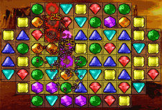 Игра Галактические камни 2: Пазлы