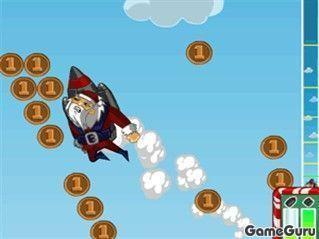 Игра Реактивный Санта 2
