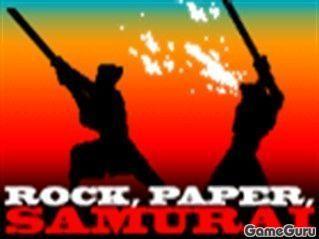 Камень-ножницы-самурай!