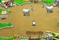 Игра Веселая ферма. Печем пиццу