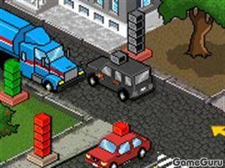 Игра Цветные машины