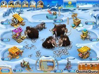 Игра Веселая ферма. Ледниковый период