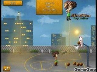 Игра Афро баскетболл
