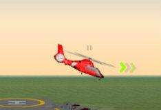 Игра Пляжный вертолет