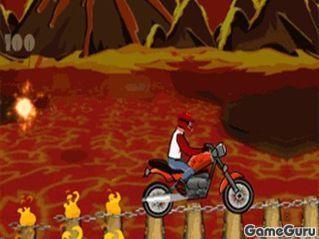 Игра Горящая дорога