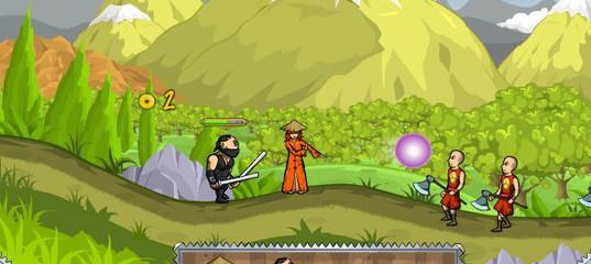 Игра Ниндзя и слепая девочка 2