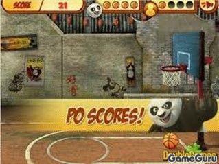 Игра Кунг Фу Баскетбол
