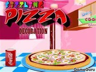 Игра Печем пиццу