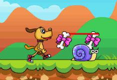 Игра Приключения маленького пса
