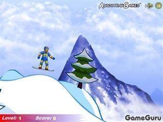 Игра Соревнование сноубордистов