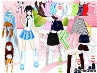 Игра Модница-подросток