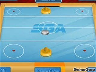 Игра SGA Аэрохоккей