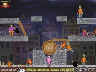 Игра Зомби-бум