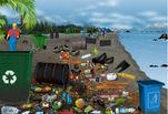 Играть бесплатно в Уборка пляжа