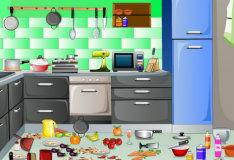 Игра Уборка кухни