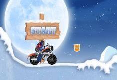 Трансформер на мотоцикле