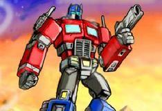 Игра Трансформеры против роботов