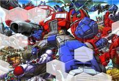 Игра Трансформерский пазл