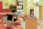 Игра Уборка офиса