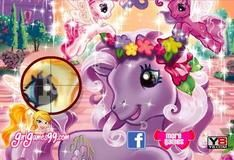 Игра Пони ищет буквы 3