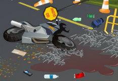 Игра Уборка после аварии