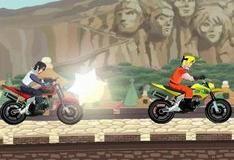 Игра Мотоциклетная гонка с Саске