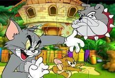 Игра Пазл с Томом и Джерри