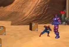 Игра Человек-Паук против роботов