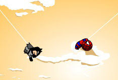 Прыжки человека-паука