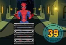Игра Человек-паук разбивает камни