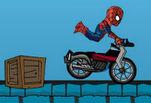 играйте в Человек паук на мотоцикле