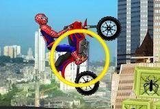 Игра Человек-паук на мотике