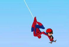 Игра Человек-паук спасает детей