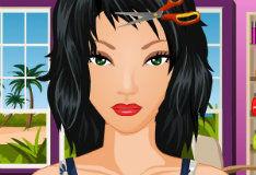 Игра Для девочек: салон красоты