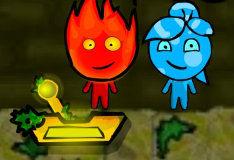 Игра Игра на двоих: Огонь и вода в лесном храме: Часть 3