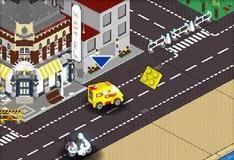 Игра Лего - погоня