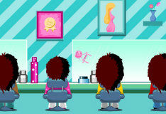 Игра Аркада в парикмахерской