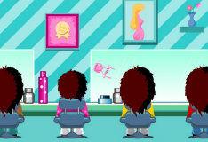 Аркада в парикмахерской