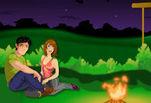 играйте в Эльза и Джек поцелуй