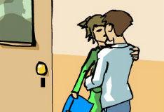 Игра Поцелуи в школе
