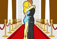 Игра Поцелуй знаменитостей